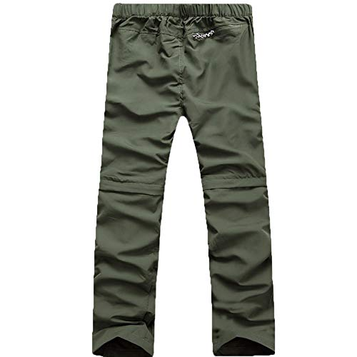 Evere Men Mountain Pants Convertible Lightweight Quick Dry Trousers