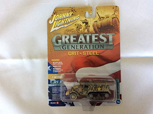 Johnny Lightning Greatest Generation WWII Allied Victory Ver B M2 Half Track