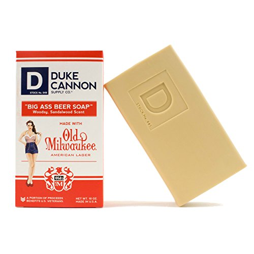 Duke Cannon Beer Soap for Men, 10 oz. in Limited Edition Pin-up Girl Box,1 Pack - Drink Beer American