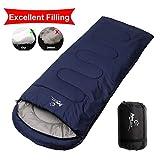 Camping Sleeping Bag, Waterproof Envelope Lightweight Portable Sleeping Bags Great For 4 Season