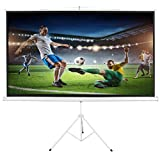 "Vivider (TM) Projection Screen 100"" 16:9 with Tripod Stand 100 Inch - Height"