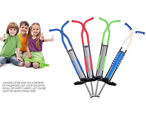 Pogo Stick Spring Rod Bounce Stick Anti-Slip Foam Handle for Children Adults Outdoor Play,Red by SVNA (Image #5)