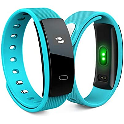 JingJingQi Fitness tracker QS80 Wireless Smart Wristband Fitness Tracker Activity Trackers Blood Pressure Pedometer Heart Rate Monitor Sport Smart Watches Estimated Price £48.00 -