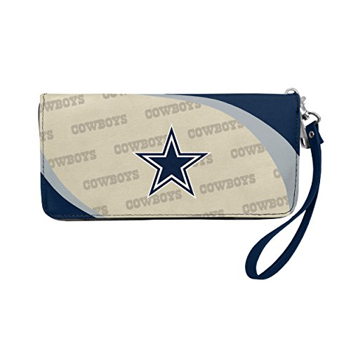 Littlearth Little Earth Dallas Cowboys Curve Zip Organizer Wallet NFL