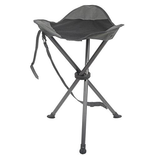 Folding Stools Tripod Tall Camping Stool Grey Ebay
