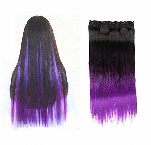 FESHF (Black To Purple Hair)