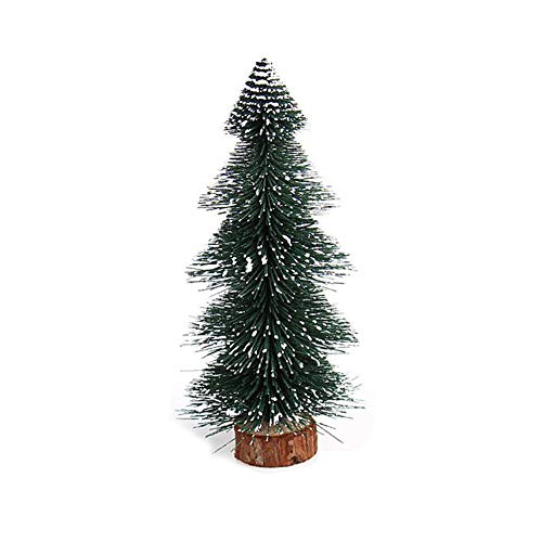 - MomeChristmas Decorations 1 PC Mini Christmas Tree Stick White Cedar Desktop Small Christmas Tree Home Office Ornaments -15cm/20cm/25cm (A)
