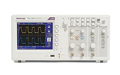 Tektronix TDS2001C 50 MHz, 2 Analog Channel Oscilloscope, 500 Ms/s Sampling,