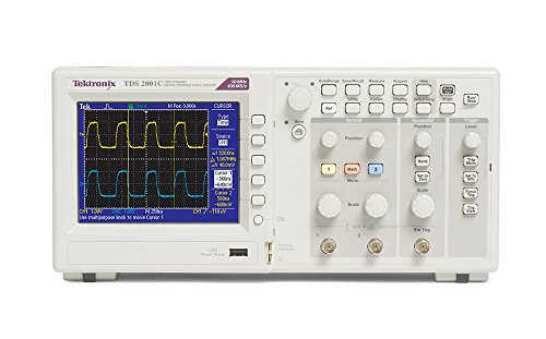 Sampling Software - Tektronix TDS2001C 50 MHz, 2 Analog Channel Oscilloscope, 500 Ms/s Sampling,
