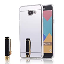 Galaxy A500 TPU Case,IVY Mirror Design with Mirror Shockproof and Scratch-Resistant TPU Case Cover For Samsung Galaxy A5 (2015) - Silvery