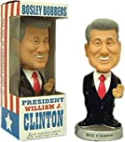 William J. Clinton Bobble Head 42nd President Bill by Bosley Bobbers