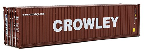 (Walthers SceneMaster 40' Hi-Cube Corrugated Container Crowley - Assembled Train Collectable Train)