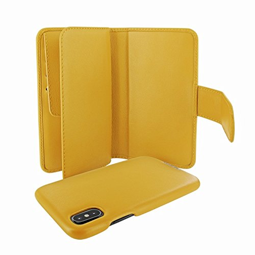 Piel Frama 793 Yellow WalletMagnum Leather Case for Apple iPhone X by Piel Frama (Image #3)