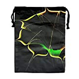 Best Glad Grocery Bags - Drawstring Gym Sport Bag Artistic Flower Fashionable Travel Review