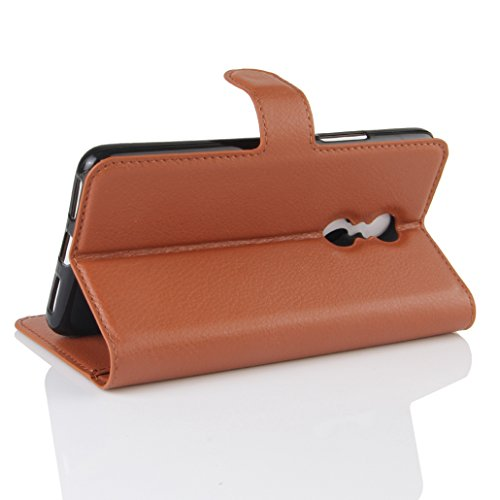 Funda Lenovo K6 note,Manyip Caja del teléfono del cuero,Protector de Pantalla de Slim Case Estilo Billetera con Ranuras para Tarjetas, Soporte Plegable, Cierre Magnético I