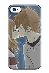 Gwenda Cromer REOxnNz17490KTlce Case For Iphone 4/4s With Nice Hds For Love Kiss Appearance