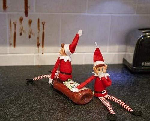 Elves Behavin Badly 12 Vinyl Faced Naughty Elf Doll