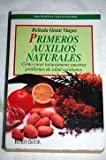 img - for Primeros auxilios naturales book / textbook / text book