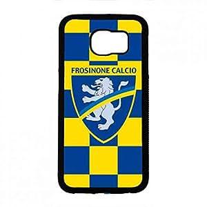 Cool Frosinone Logo Print Samsung Galaxy S6 Phone Back Funda,Hard Frosinone Funda,Transprant Funda