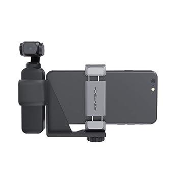Zubehör Smartphone Halter Bracket  Halterung Für DJI OSMO Pocket Gimbal Schwarz