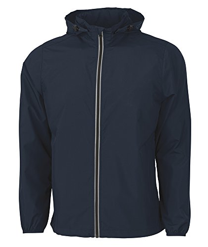 Charles River Apparel Men's Reflective Wind and Water Resist