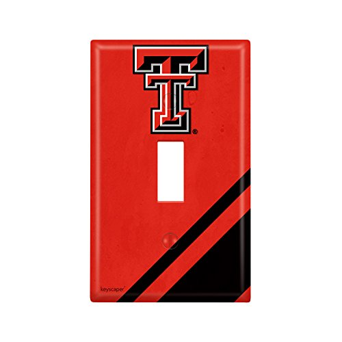 Texas Tech Single - Texas Tech Single Toggle Light Switch Cover NCAA