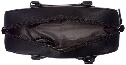 Schwarz Damen 10x24x32 cm Bag Henkeltasche Bowling Black Sansibar HpxnZIwqZ
