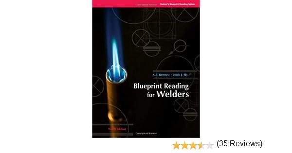 Blueprint Reading for Welders (Blueprint Reading Series): A.E. ...
