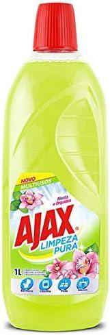 Limpador Diluível Ajax Limpeza Pura Menta E Orquídea 1000Ml