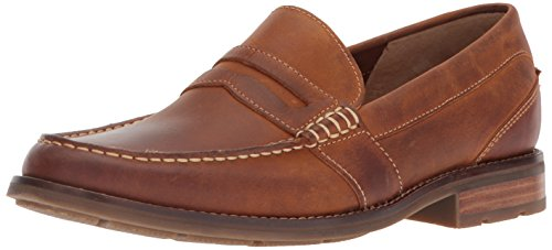 SPERRY Men's Essex Penny Loafer, Tan, 10.5