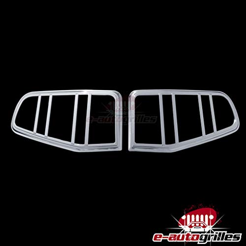 EAG 10-12 Ford Mustang Taillight Bezels Cover Chrome ABS (67-0310)