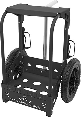 ck Disc Golf Cart by ZUCA - Matte Black ()