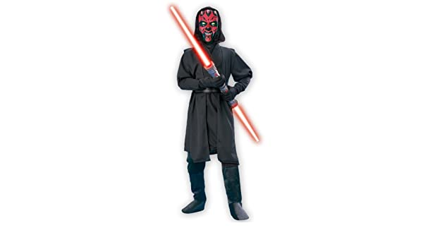 Child Darth Maul Deluxe Fancy dress costume X-Large: Amazon ...