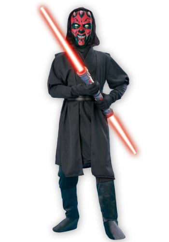 Star Wars Deluxe Darth Maul Child's Costume, Medium