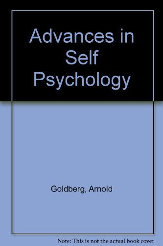 Advances in Self Psychology
