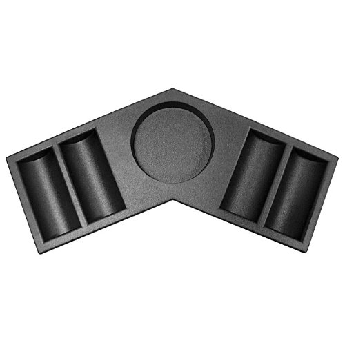 Poker Table Tray - Trademark Replacement Tray for 10-8221 Poker Table (Black)