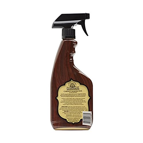 Goddard's Cabinet Makers Fine Wax Spray - For Wood Furniture - 16 oz.