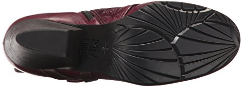 Miz Ankle US Boot Women's Black 6 Eggplant Mooz Dale RR7Cxn4q