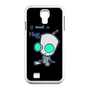 T-TGL(RQ) Custom Invader Zim Pattern Protective Phone Case for Samsung Galaxy S4 I9500