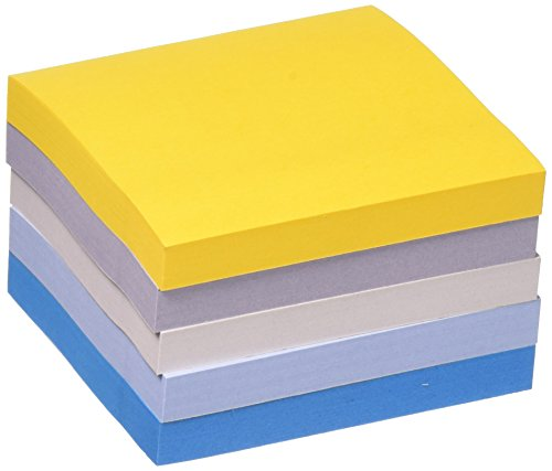 Post-it Super Sticky Notes, Colors of the World Collection, 3 in x 3 in, New York (654-5SSNY)