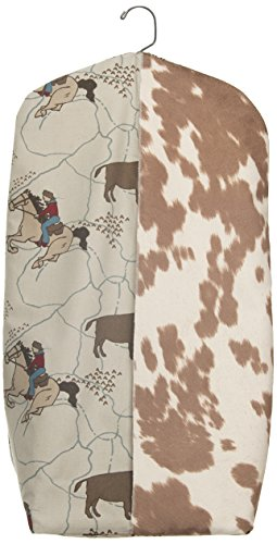 Sweet Potato Happy Trails Diaper Stacker, Brown/Cream by Sweet Potatoes