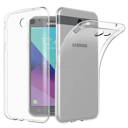 huge selection of 8600b a0eb5 Amazon.com: [Galaxy J7 Prime Case] Durable Flexible Clear ...