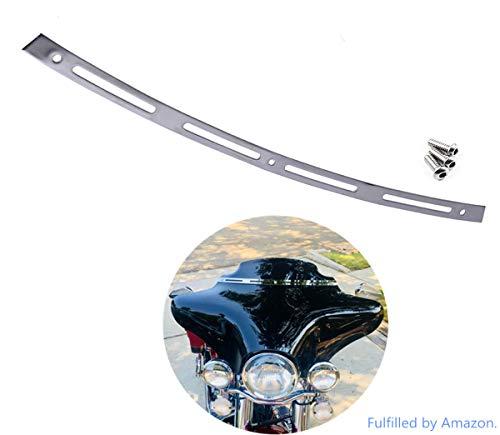 Artudatech 9 Windshield For 2014-2017 Harley Electra Street Glide Touring FLHT FLHTC Smoke