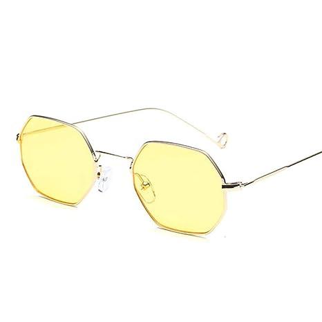 Yangjing-hl Gafas de solHombres Mujeres Wood er Gafas de Sol ...