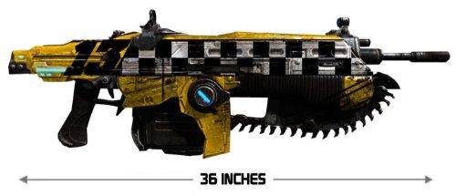 "Gears of War Judgment Lancer Replica ""Car No. 13"", Best Gadgets"