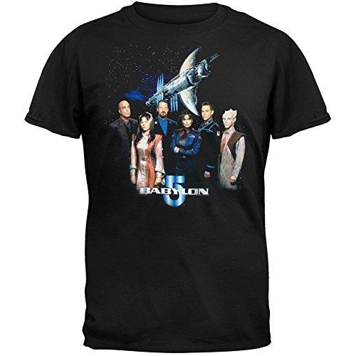 Babylon 5 - Group Photo Adult T-Shirt - X-Large