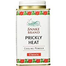 Prickly Heat Powder Snake Brand Classic Scent (150 Gram) - Prickly Heat, Cool Powder, Heat Rash, Heat Rash Treatment Get Free 1 Special Gift