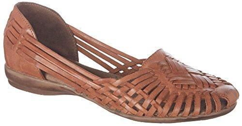 Naturalizer Soul Womens Grandeur Flats Saddle Tan