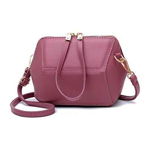 Diamante Crossbody Retrò Liu Tracolla Pelle Elegante Casa Grigio Selvatici · Donna colore Bag Creativa Yu In Gomma Del Della Rete 1qOwxXIOnz