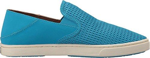 OluKai Womens Pehuea Vivid Blue/Vivid Blue Loafer